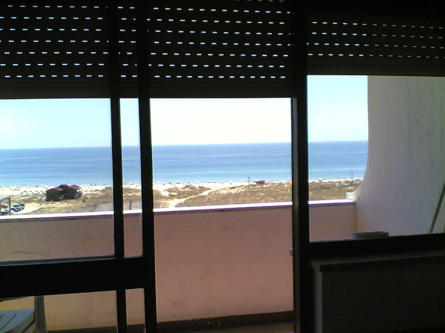 Seaview inside the apartment