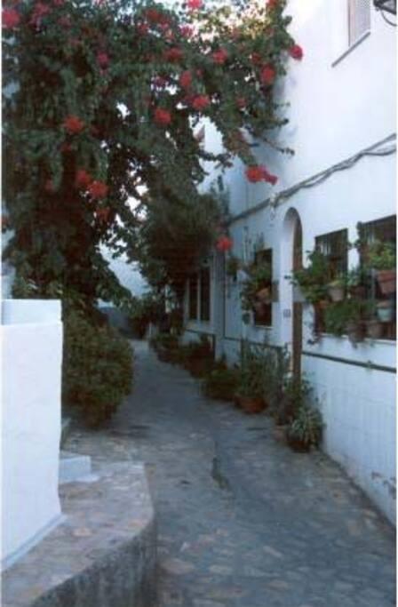 barrio acogedor en el corazón de Salobreña