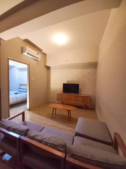 Oces Property Minimalis Suite 2 Bedroom Apartemen