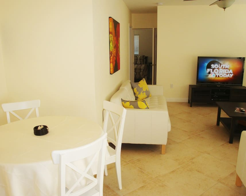 This three bedroom apartment is perfect for that beach vacation.