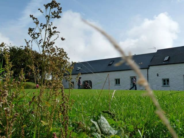 The Barn, with plenty of outdoor space. The Dairy, a 1 bedroom cottage also available.