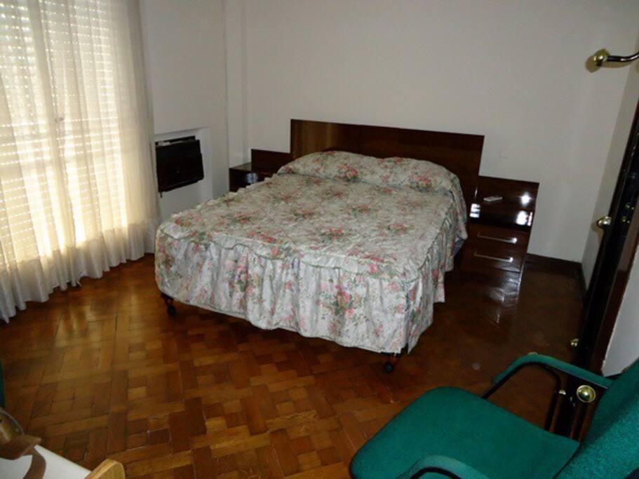 Dormitorio principal, aire acondicionado