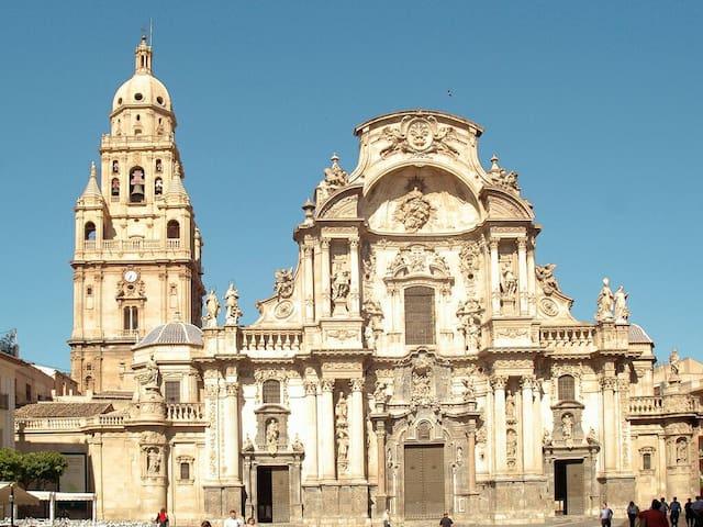 Habitaciones a un paseo del Centro. - Murcia - Daire