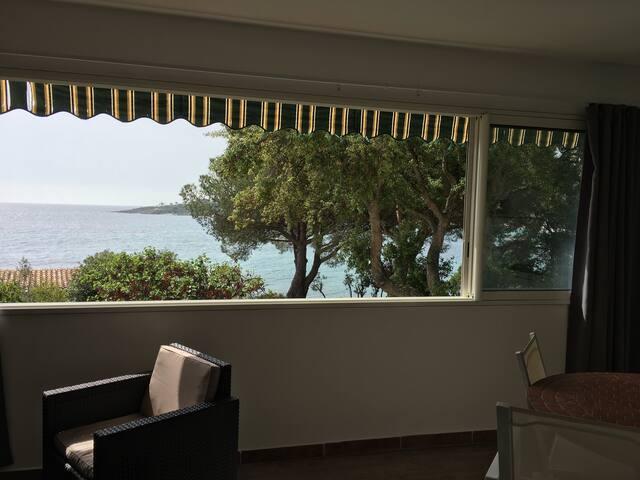 veranda cuisine superbe vue mer