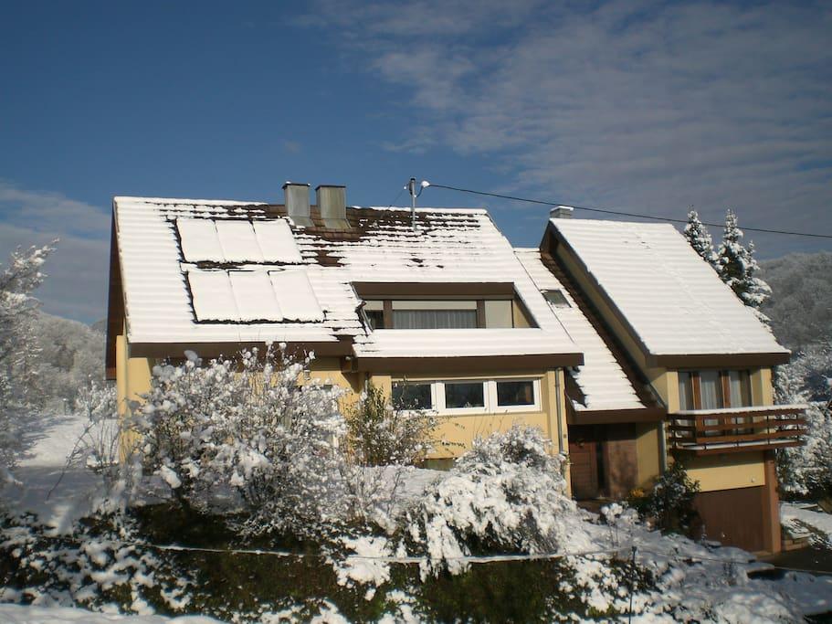 Le logement sous la neige