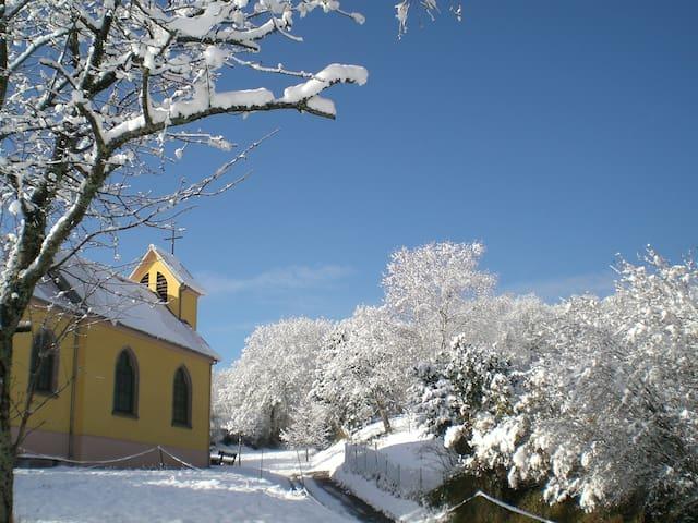 La chapelle à côté du logement