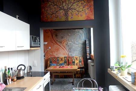 Kleine Loft-Wohnung mit Garten - Appartamento