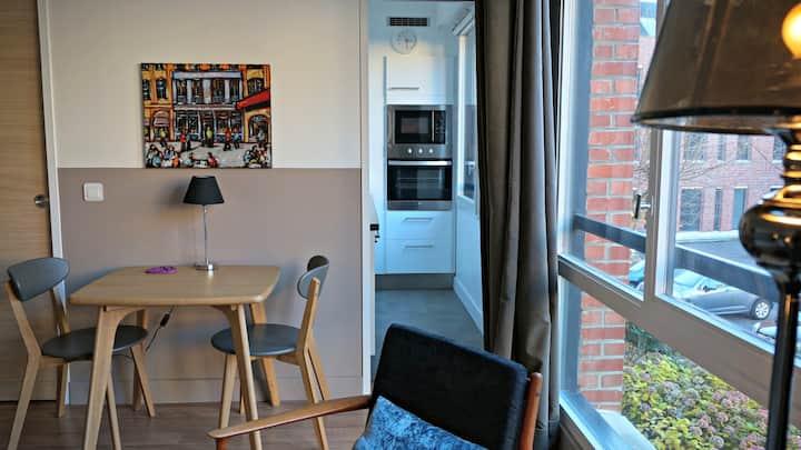 Studio 2 personnes Vieux Lille + Parking