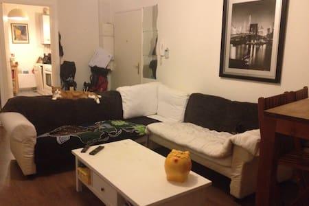 Chambre lit 2 places - Auvers-sur-Oise - Apartemen