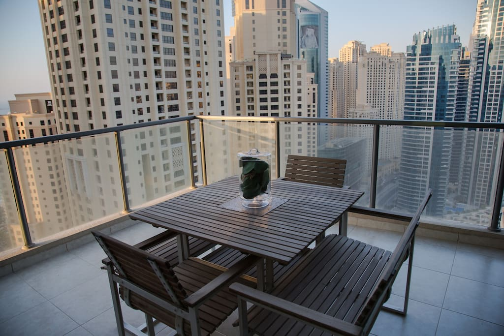 Incredible views from your terrace