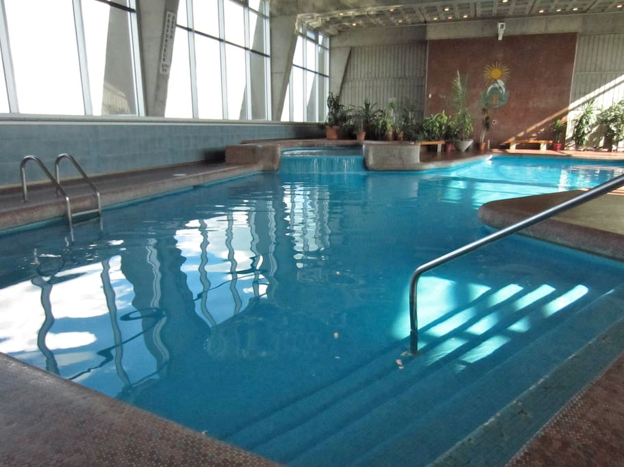 Pool on the 27th Floor