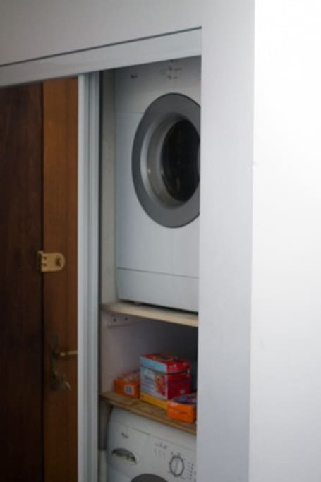 In house laundry machines