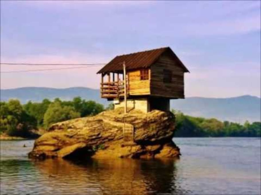 We are 6 km from the most famous house on the River Drina
