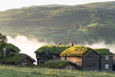 "Fairytale-Farm hotel in Jotunheimen ""Eldhuset"""