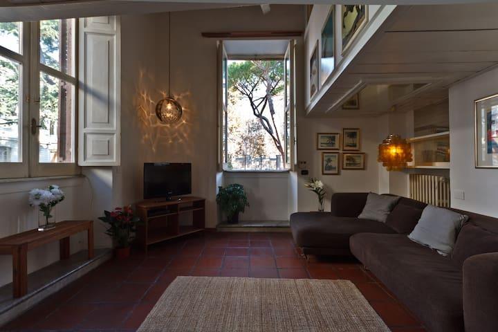 Ancient Trastevere rooms: THE LOFT
