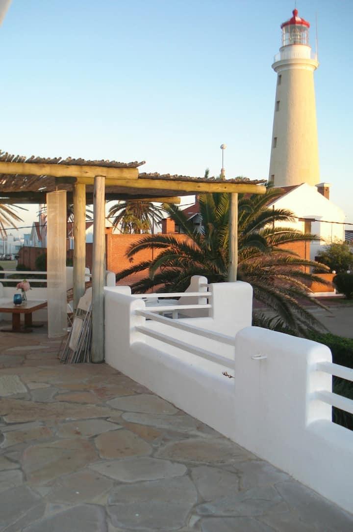 Close to Punta del Este ligthhouse!