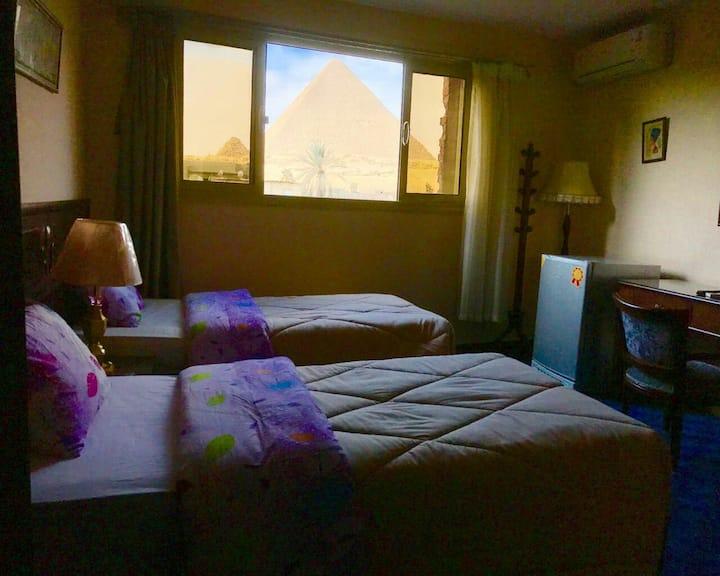 3 Pyramids view inn- Zuma+ Free pick up