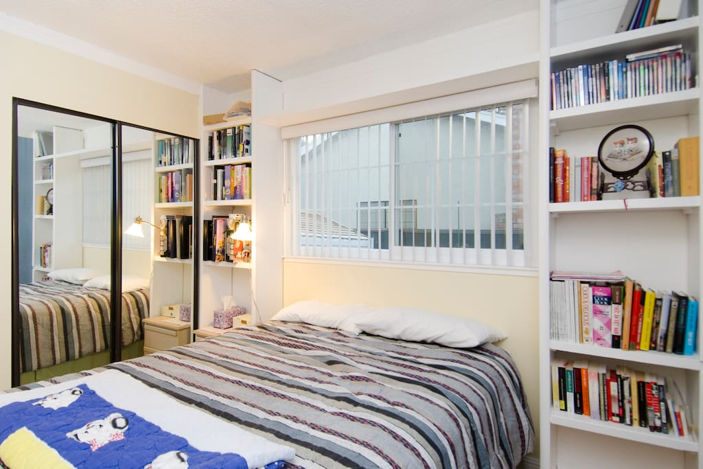 Library Bedroom  (1st 2 people)