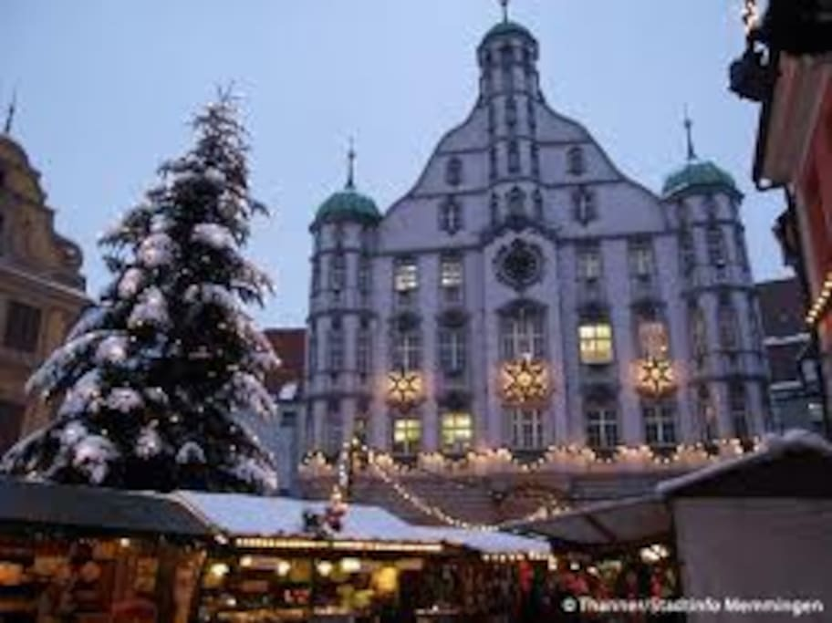 Memmingen mit seiner historischen Altstadt ... Eine echte Sehenswürdigkeit