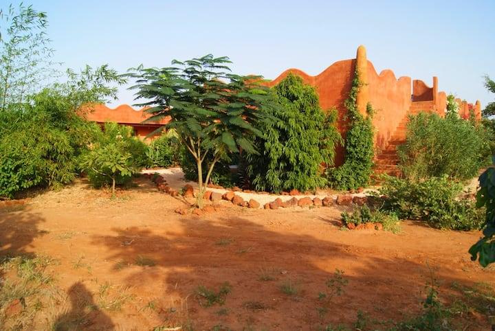 Chambre dans la savane - Maat (Lodge Dalaal Diam)