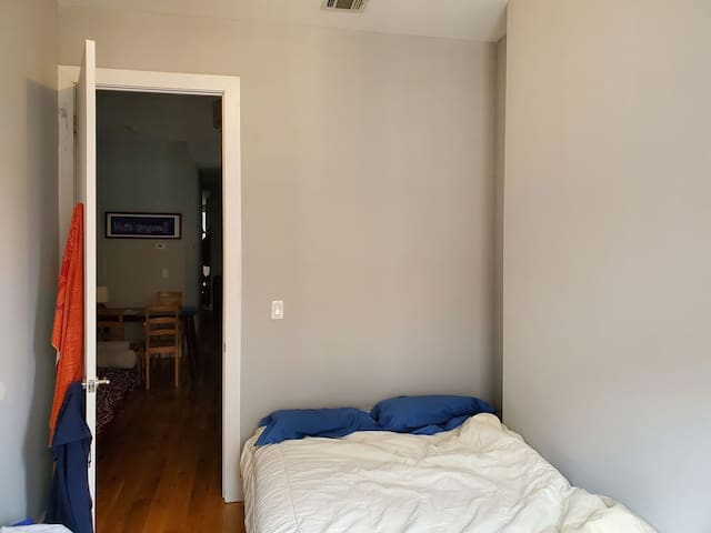 Well lit, spacious room in a cool area of Brooklyn
