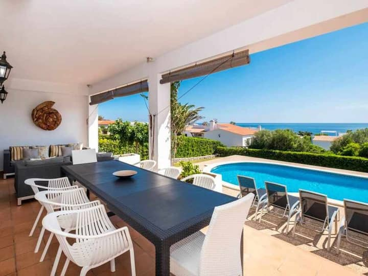VILLA BINI VENT - Elegant large villa near the beach, amazing sea views