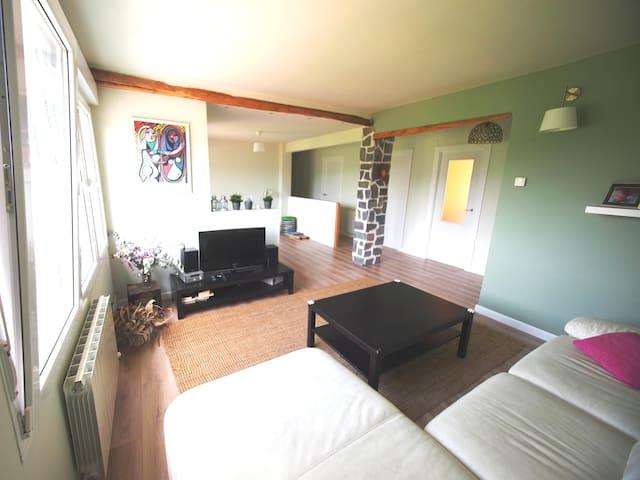 Amplio apartamento familiar en Ibarrangelu.