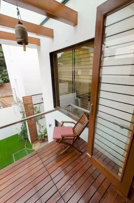 1 - Relax at your private balcony