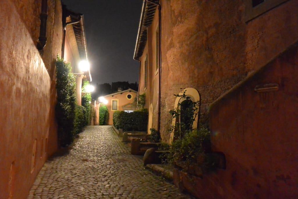 L'interno del Borgo