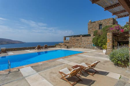 Villa Schistolithos in Kea - Koundouros