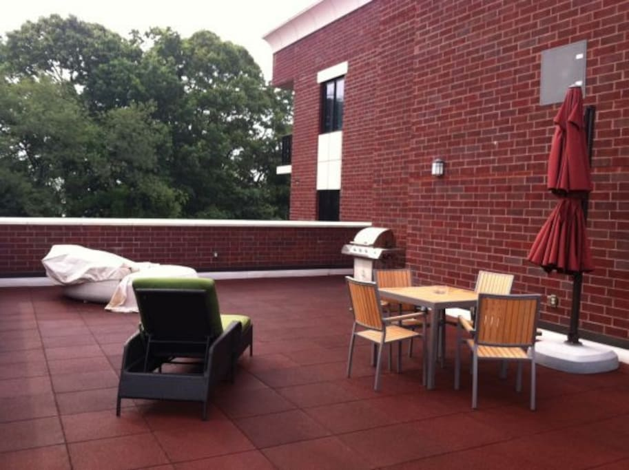 Rooftop Terrace for entertaining