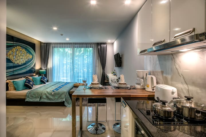Fantastic Well Equipped Studio @ Patong, 40 sq.m.