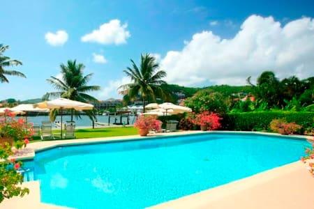 Frangipani- Waterfront with Pool - Rodney Bay