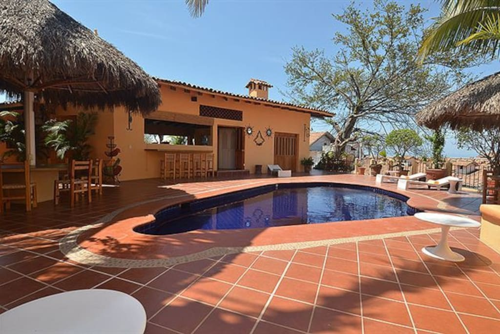 Heated private pool and terrace