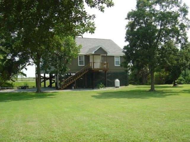 Vermilion Parish Marsh View home - Kaplan - House