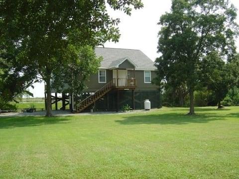 Vermilion Parish Marsh View home