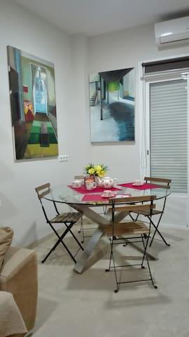 Apartamento luminoso y acogedor