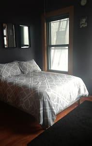 Private Room in East Harlem Loft w/ Terrace - New York - Lägenhet