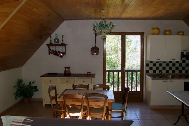 Chez Thierry et Frédérique à Sailhan