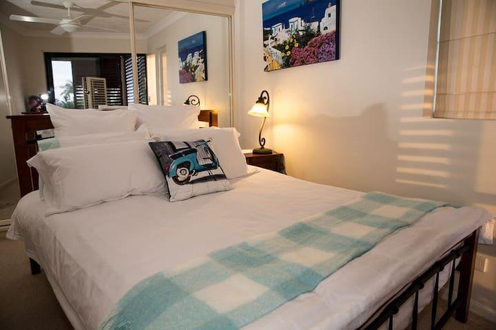 Bedroom in Brisbane,  Australia (New Farm) - New Farm, Brisbane - Lägenhet