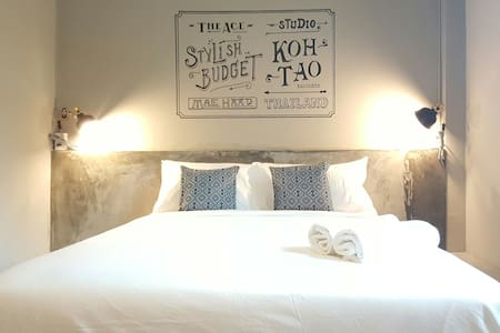 THE ACE Stylish Budget@T4 at Mae Haad Pier - Ko Tao - Appartement
