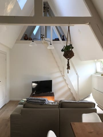 Apartment in Amsterdam city with roof terrace!