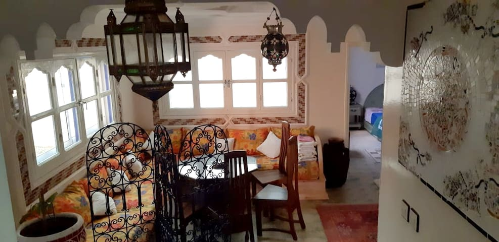 House with 3 bedrooms in Mirhleft, with enclosed garden and WiFi