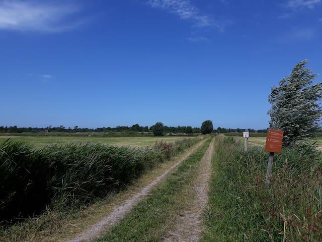 De baak, natuurgebied waar je leuk kan wandelen