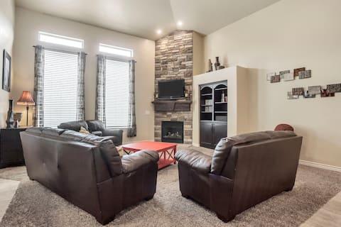 Large luxury home near Salt Lake and ski resorts