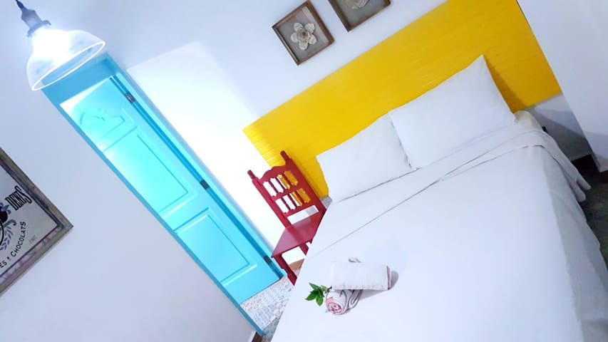 Cancun boutique bedroom vintage