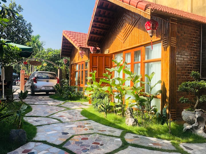 Bungalow familial w/ garden view in Tam Coc #2
