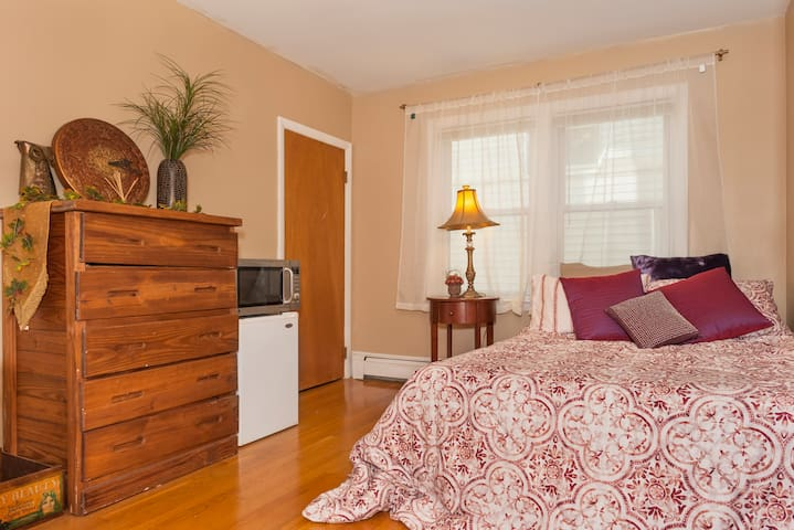 Rustic Room Brigham, BC & Longwood Brookline BU - Brookline - House