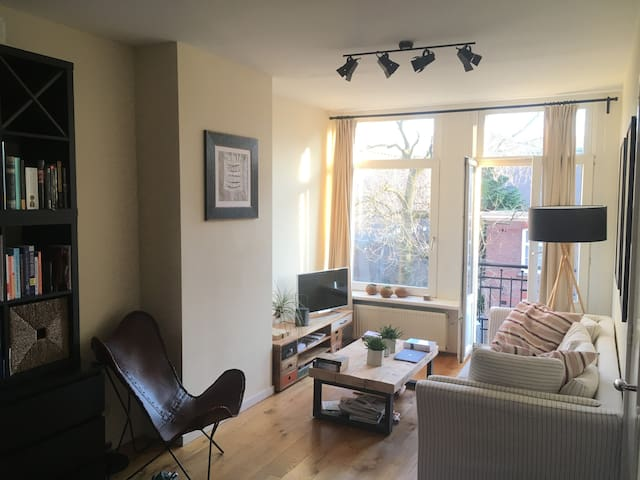 beautiful apartment in cool part of Amsterdam - Amsterdam - Appartamento