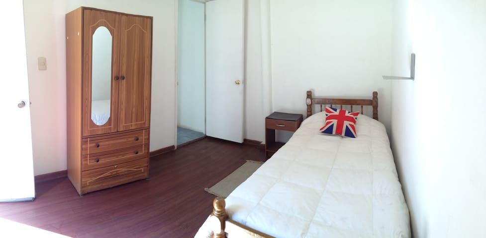 Private room with toilet The best location in Stgo - Providencia - Huis